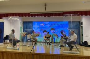香港管弦樂團樂手為同學表演